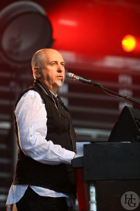 Peter Gabriel Festival les Vieilles Charrues vendredi 20 juillet 2007 par herve le gall photographe cinquieme nuit