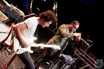 Rob Mazurek et Julien Desprez Atlantique jazz festival Mac Orlan vendredi 13 octobre 2017 par herve le gall photographe cinquieme nuit