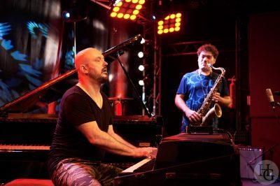 Julien Lourau et Bojan Z Atlantique jazz festival Vauban dimanche 15 octobre 2017 par herve le gall photographe cinquieme nuit