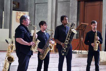 Quatuor Machaut Atlantique Jazz festival Eglise Saint Louis dimanche 15 octobre 2017 par herve le gall photographe cinquieme nuit