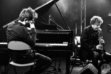 Louis Sclavis Benjamin Moussay duo Cabaret Vauban mercredi 1er novembre 2017 par herve le gall photographe cinquieme nuit