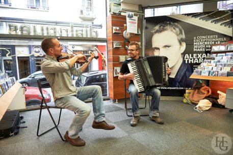 Voï VoïDialogues musiques Brest samedi 7 octobre 2017 par herve le gall photographe cinquieme nuit