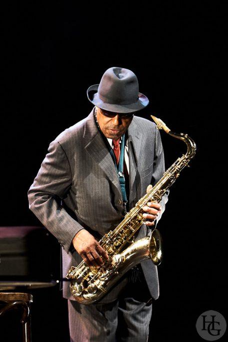 Archie Shepp Atlantique jazz festival le Quartz Brest samedi 24 octobre 2009 par herve le gall photographe cinquieme nuit