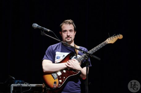 Leïla Martial Baa Box feat. Pierre Tereygeol, guitare Le Quartz Brest mercredi 10 janvier 2018 par herve le gall photographe cinquieme nuit