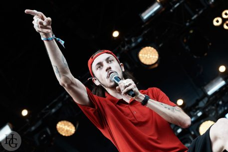Roméo Elvis festival des Vieilles Charrues dimanche 22 juillet 2018 par herve le gall photographe cinquieme nuit
