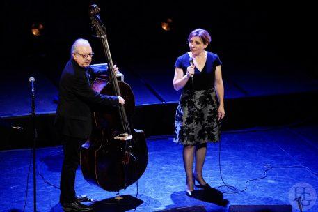 Annie Ebrel et Riccardo Del Fra Atlantique jazz festival 14 octobre 2018 par herve le gall photographe cinquieme nuit