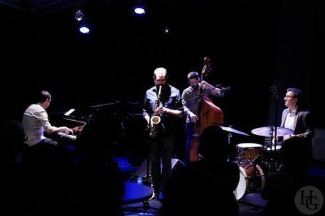 Clément Abraham Quartet Atlantique jazz festival Mac Orlan mercredi 10 octobre 2018 par herve le gall photographe cinquieme nuit