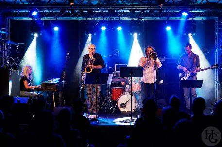 François Corneloup quintet Révolution Atlantique jazz festival Cabaret Vauban mercredi 10 octobre 2018 par herve le gall photographe cinquieme nuit