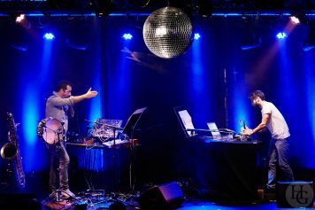 Jason Sharp et Adam Basanta Atlantique Jazz festival Cabaret Vauban samedi 13 octobre 2018 par herve le gall photographe cinquieme nuit