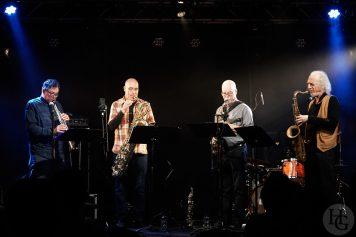 Rova saxophone quartet Atlantique jazz festival Cabaret Vauban jeudi 11 octobre 2018 par herve le gall photographe cinquieme nuit
