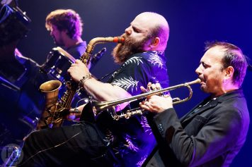 Thomas de Pourquery et Supersonic Atlantique Jazz festival le Quartz scène nationale de Brest samedi 13 octobre 2018