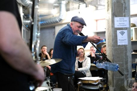 André Minvielle et Ensemble Nautilis Beaj Kafé Brest mercredi 30 janvier 2019 par herve le gall photographe cinquieme nuit