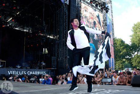 Jamel Debbouze festival des Vieilles Charrues jeudi 18 juillet 2019 par Hervé «harvey» LE GALL photographe Cinquième nuit
