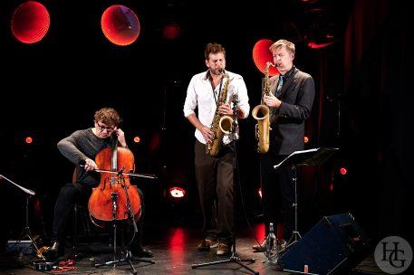 Trio Courtois Fincker Erdman Atlantique jazz festival Run ar Puns Châteaulin dimanche 5 octobre 2019
